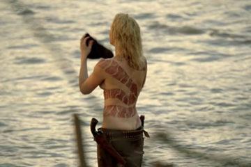 Yılan dövmeli kadın, Westworld.