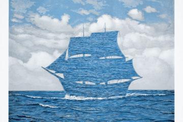 Rene Magritte, The Tempter, Litografi