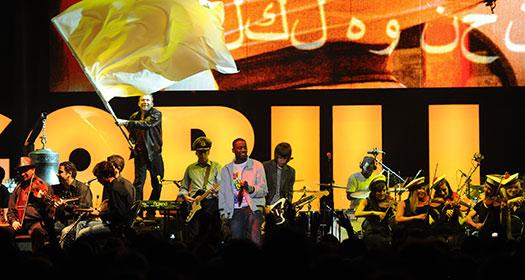 Damon Albarn ve orkestrası festivalin açılış konseriydi.
