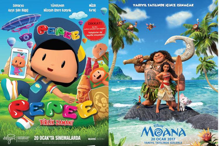 çocuklar Için Animasyon Filmleri Birbiri Ardına Vizyonda Sanatatak